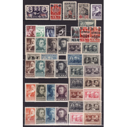 1947 - Stamp year set - MNH**