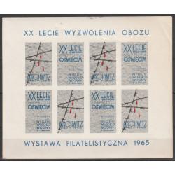 """Nalepka """"Oświęcim 1965"""""""