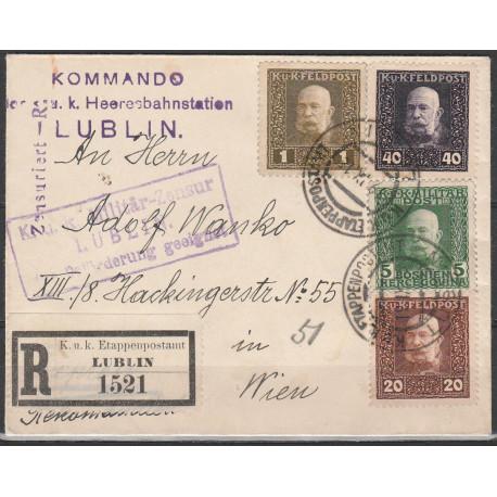 OA registered letter Lublin 1916