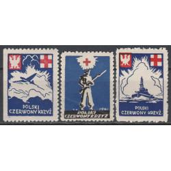 PCK nalepka dobroczynna 1941 szóstka MNH**