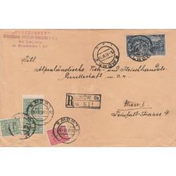 Polska - list polecony ze Lwowa, 1933