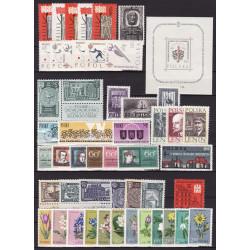 1962 - Stamp year set - MNH**