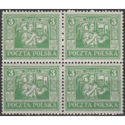 153 block of 4 MNH**