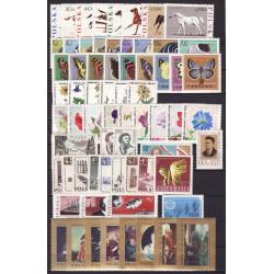 1967 - Stamp year set - MNH**