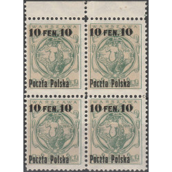 003 block of 4 MNH**