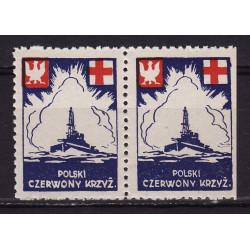 PCK nalepka dobroczynna 1941 parka MNH**