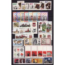 1969 - Stamp year set - MNH**