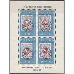 Poland 1960 - Fi 1033 bl 27 MNH**