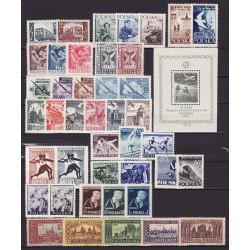 1954 - Stamp year set - MNH**