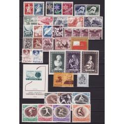 1956 - Stamp year set - MNH**
