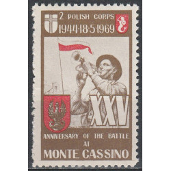 Monte Cassino 1969 label
