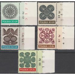 1945-1949 marginesy MNH**