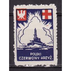 PCK Nalepka dobroczynna 1941 MNH**